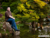 Posing in Japanese Garden