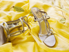 M by Marinelli on yellow silk