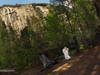 Runaway bride in Ahwahnee, Yosemite