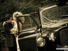 Embrace by the Vintage London Taxi, Nestldown, Los Gatos